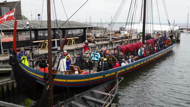 Havhingsten sejler træningssejlads