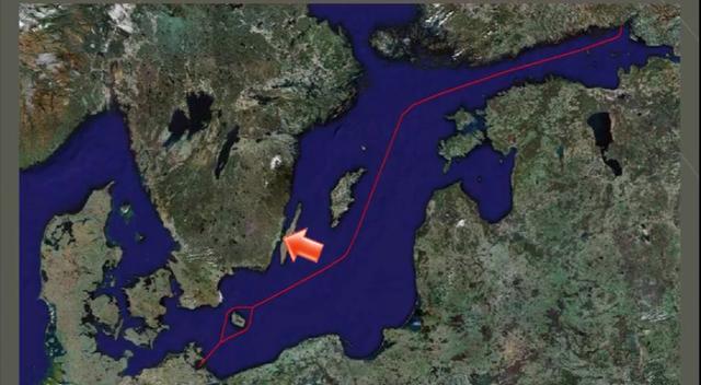 Marts, 2013: Skibsvrag fra danske sektor af Nordstream